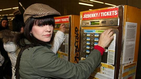 Marta Jandová je v metru cizinec.