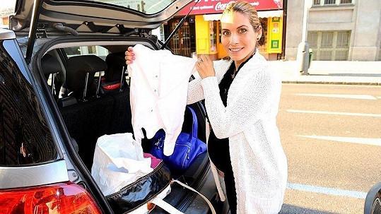 Eva Decastelo má tašku do porodnice sbalenou