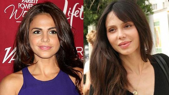 Azita Ghanizada je podobná Melově bývalé přítelkyni Oksaně Grigorievě.