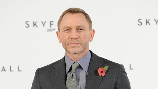 Daniel Craig, představitel role Jamese Bonda.