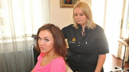 Kamila měla vlasy v děsném stavu.