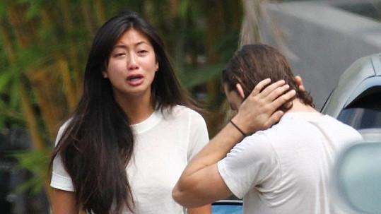 Shia LaBeouf během výměny názorů s přítelkyní.