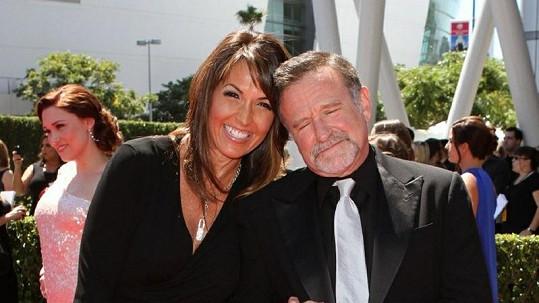 Robin Williams a Susan Schneider.