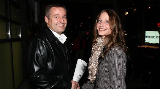 Vladimír Hron s manželkou Michaelou.