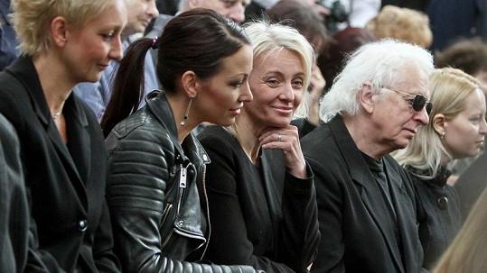 Veronika Žilková s dcerou Agátou chvílemi plakaly, chvílemi se smály.