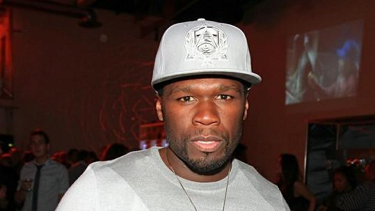 Rapper 50 Cent píše knihu.