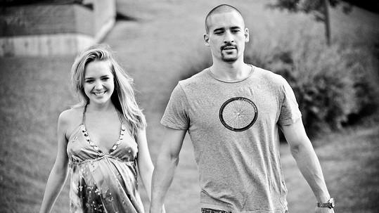 Lucie a Tomáš Plekancovi tvoří krásný pár.