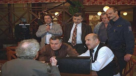 Seriál Hospoda se začal vysílat v roce 1996.