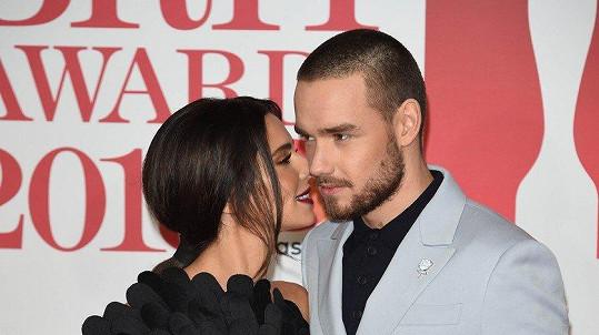 Cheryl a Liam vypadali spokojeně.