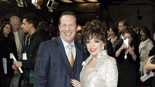 Joan (85) s manželem Percym Gibsonem (53)