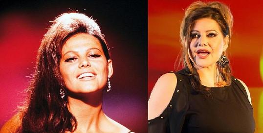 Claudia Cardinale a její česká dvojnice. Je jí Csáková stále ještě podobná?