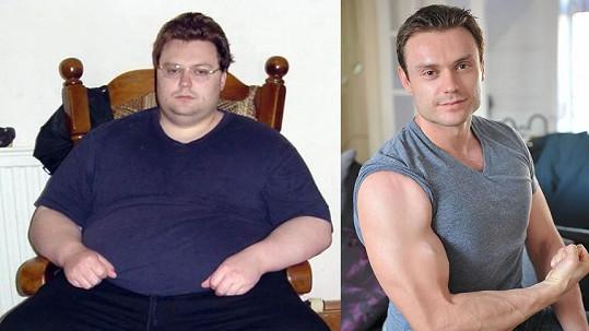 Nepodařený odchod ze světa mu změnil život. Zhubnul 114 kilo a je z něj sekáč.