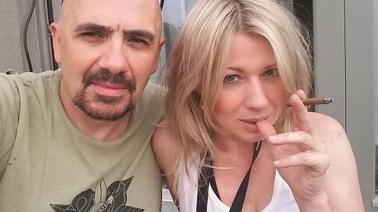 Čestmír Řanda a Tina Pletánová jsou nový pár.