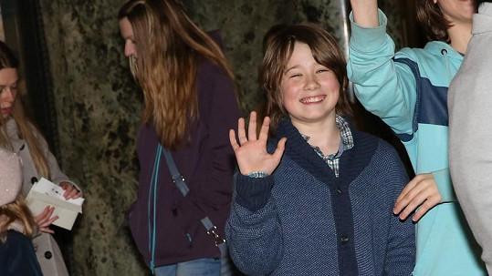 Syn Pavla Lišky si nenechal ujít premiéru tatínkova filmu Špunti na vodě.