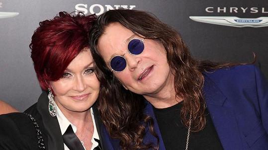 Sharon Osbourne s manželem Ozzym