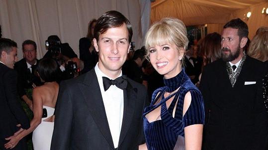 Ivanka Trump s manželem.