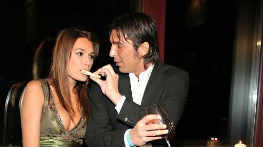 Alena Šeredová a Gigi Buffon v době, když ještě byli šťastní.