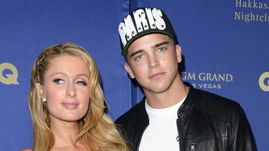 Paris Hilton už nerandí s Riverem Viiperim.