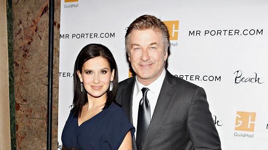 Alec Baldwin s manželkou.