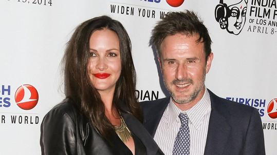 David Arquette s manželkou Christinou McLarty