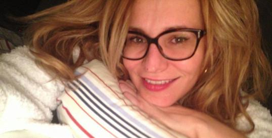 Monika Absolonová vypadá úžasně i bez make-upu.