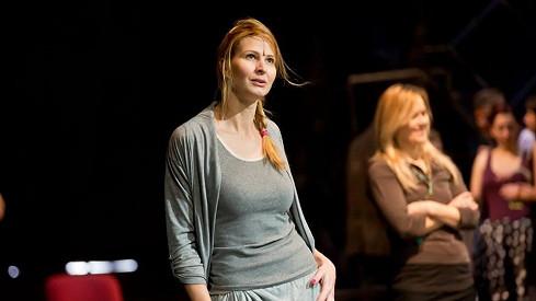 Ivana Gottová na zkouškách muzikálu Přízrak Londýna