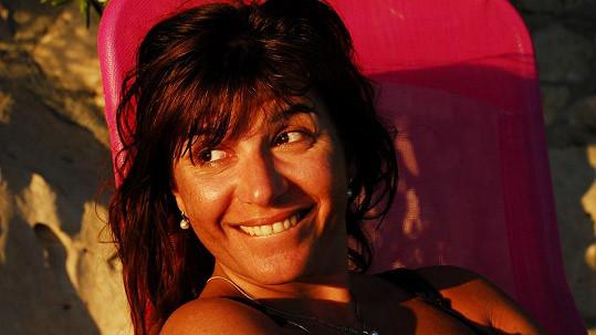 Andrea Kalivodová bez šminek vypadá krásně.