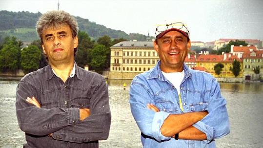 Vladimír Tesařík a Richard Tesařík