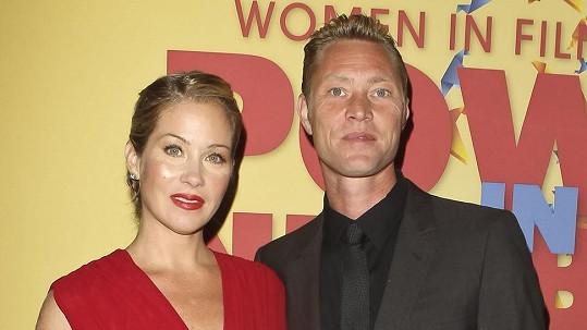 Christina Applegate s manželem.