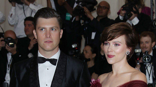 Scarlett Johansson se s novým přítelem doposud moc neukazovala.
