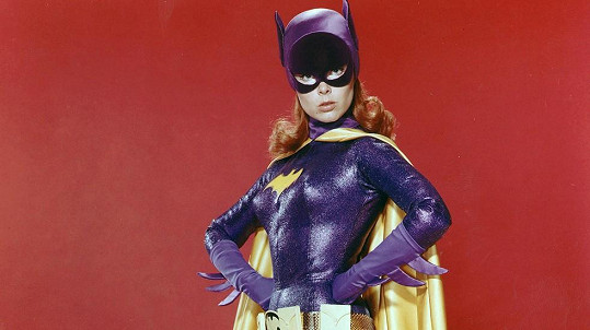 Yvonne Craig jako Batgirl v seriálu Batman ze 60. let.