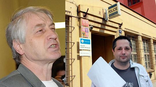 Josefa Rychtáře muž vpravo podezírá z propagace nacismu. Už to řeší policie.