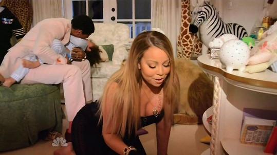 Mariah Carey jako sexy maminka