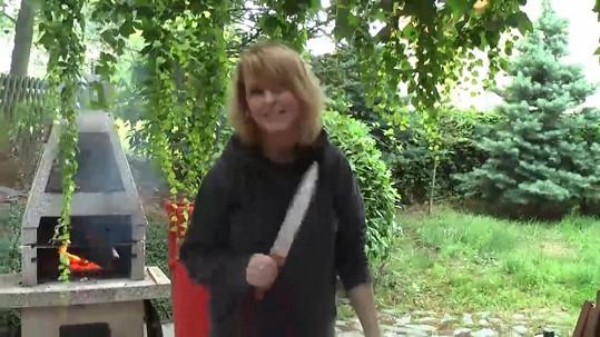 Iveta Bartošová se rázně vypořádala s nechtěnou návštěvou.