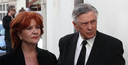 Carmen Mayerová a Petr Kostka