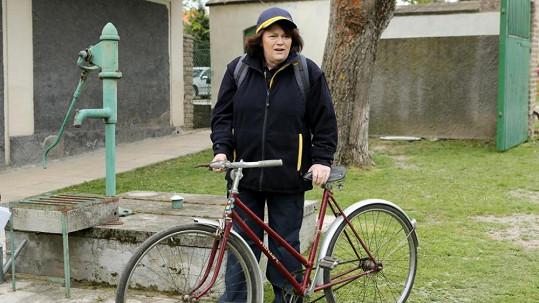 Jitka Smutná v seriálu Svatby v Benátkách