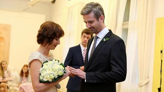 Seriálová svatba byla tentokrát komorní.