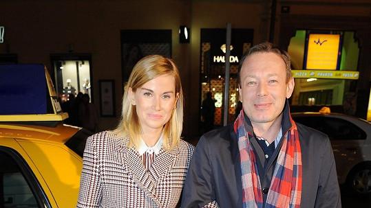 Michal Dvořák s manželkou, DJ Luccou