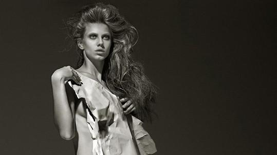 K žádaným modelkám patří i Sasha Gachulincová.