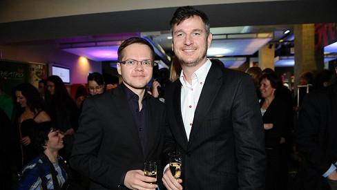 Lumír s přítelem Pavlem