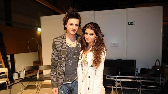 Nový pár tvoří Tereza Mandzáková a Martin Šafařík.