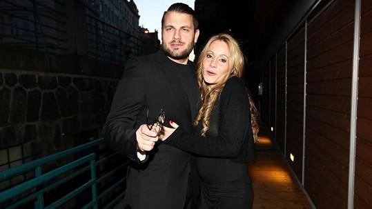 Petr Svoboda se svojí manželkou