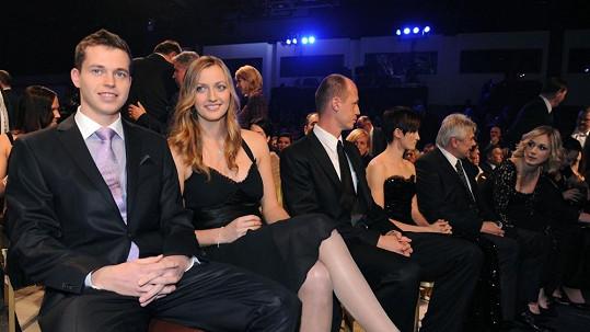 Adam Pavlásek a Petra Kvitová jsou zase spolu.