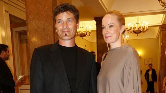 Alena Antalová s manželem Josefem Juráčkem