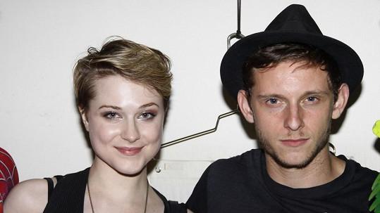 Evan Rachel Wood a Jamie Bell se stali rodiči.