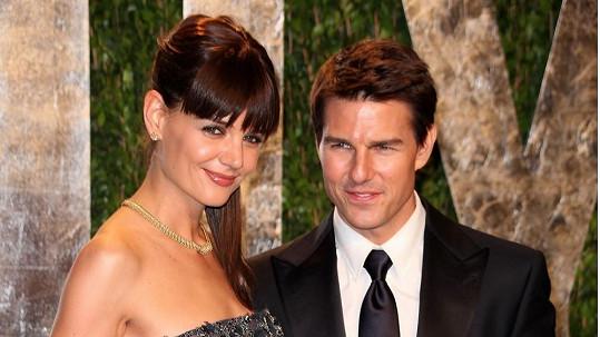 Tom Cruise a Katie Holmes v době, kdy spolu ještě byli šťastní.
