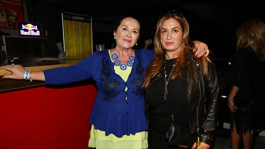 Rola Brzobohatá s maminkou Hanou Gregorovou