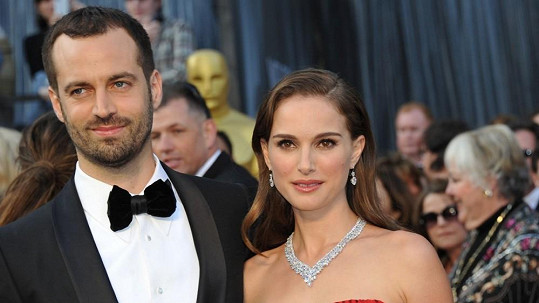 Natalie Portman a její manžel Benjamin Millepied