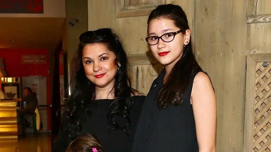 Magda Malá s dcerou Magdalenkou