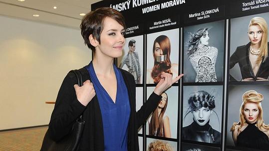 Gábina byla v porotě soutěže Kadeřník roku.